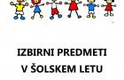 IZBIRNI PREDMETI 2021/2022
